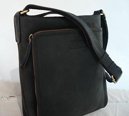 sac en cuir noir pour femme nevada. Black Bedroom Furniture Sets. Home Design Ideas
