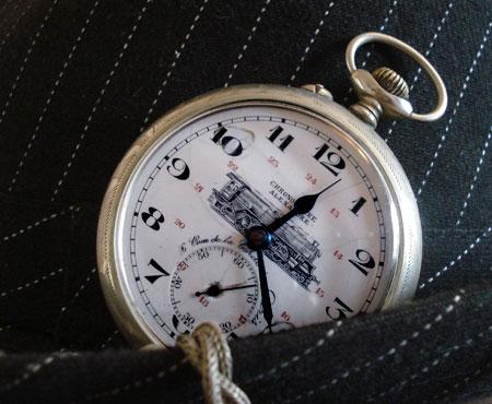 377aacb6063 Montre gousset homme Chronomètre Alexandre -
